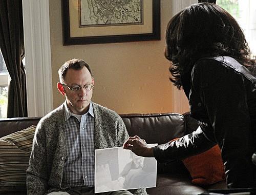 Person of Interest: Michael Emerson e Taraji P. Henson in un momento dell'episodio Cura Te Ipsum