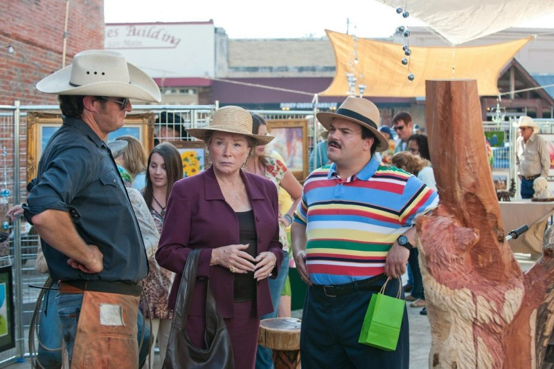 Jack Black e Shirley MacLaine nella commedia Bernie