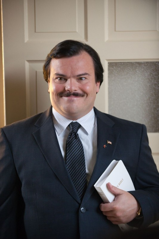 Jack Black interpreta l'assassino e truffatore Bernie
