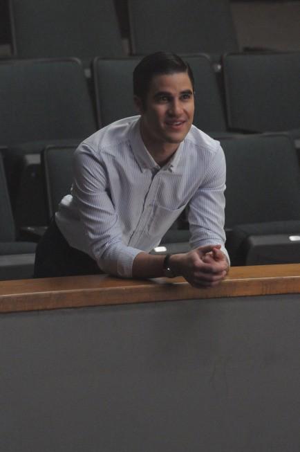 Glee: Darren Criss nell'episodio Choke