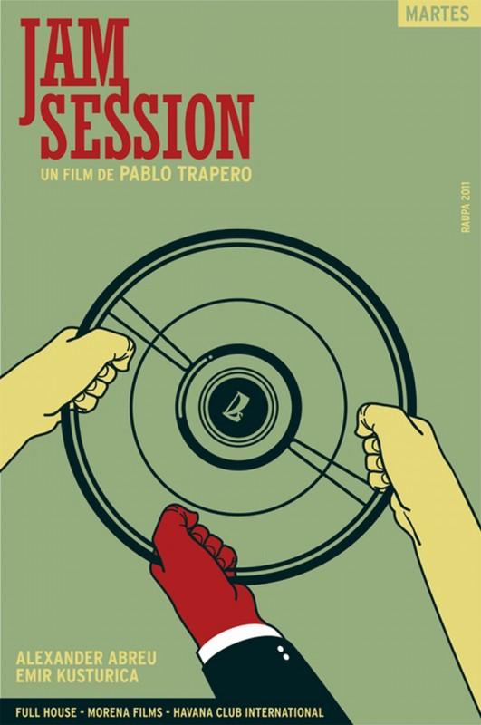 7 giorni all'Havana: il poster cubano di Jam Session (giorno 2) l'episodio diretto da Pablo Trapero