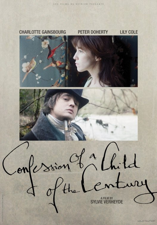 Confession of a Child of the Century: il poster del film