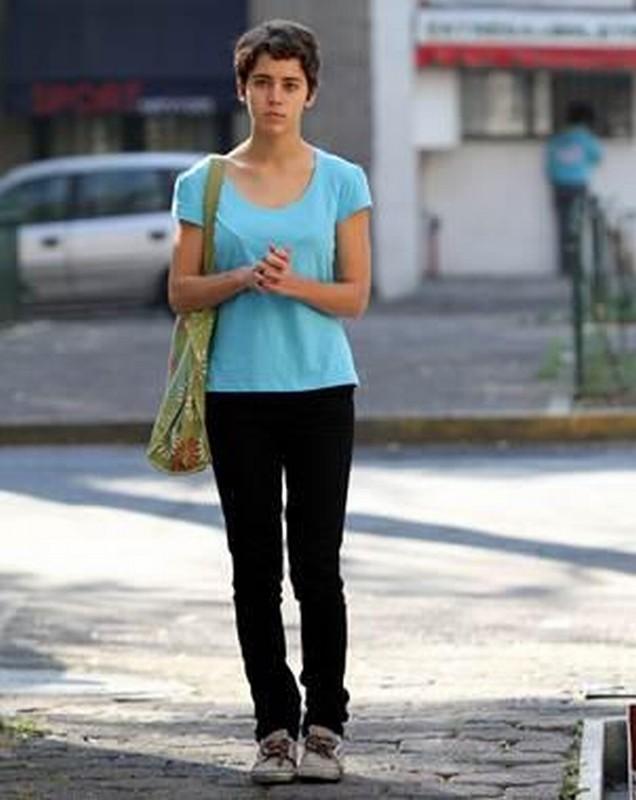 Después de Lucía: la protagonista Tessa Norvind in una scena del film