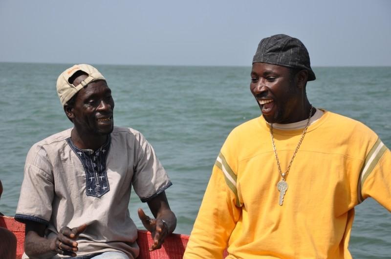 La pirogue: un'immagine tratta dal film diretto dal regista senegalese Moussa Touré