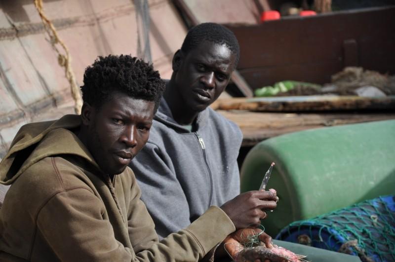La pirogue: un'immagine tratta dal film diretto dal senegalese Moussa Touré
