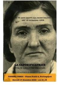 La saponificatrice - Vita di Leonarda Cianciulli: la locandina del film