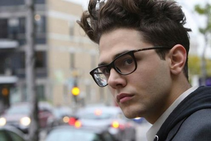 Laurence Anyways: il regista Xavier Dolan sul set del film