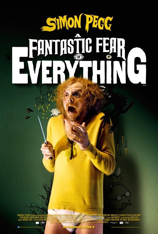 A Fantastic Fear of Everything: la locandina del film