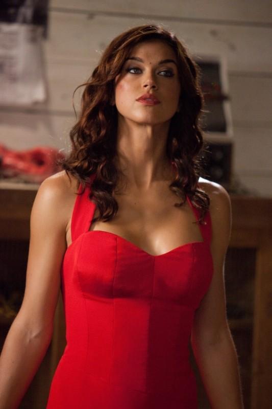 Adrianne Palicki in tutta la sua bellezza in una scena di G.I. Joe: La vendetta