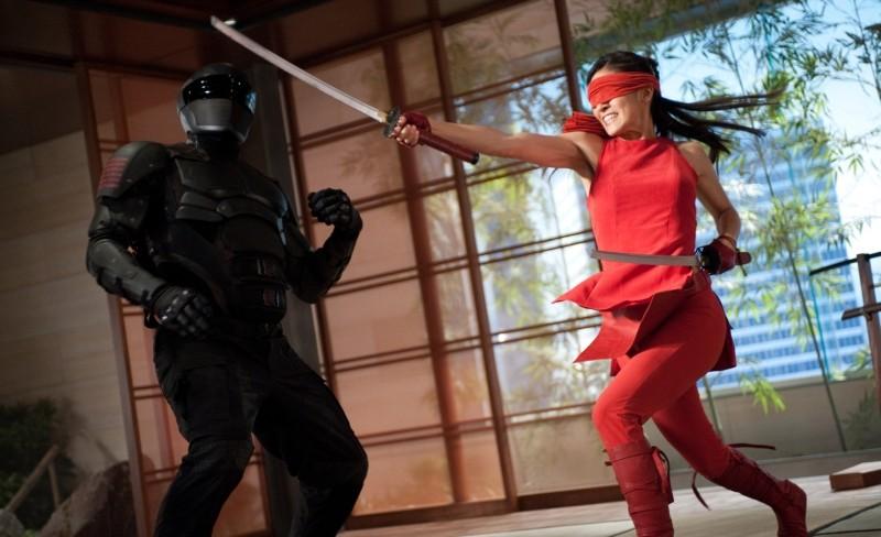 G.I. Joe: La vendetta, Elodie Yung in una scena di combattimento del film