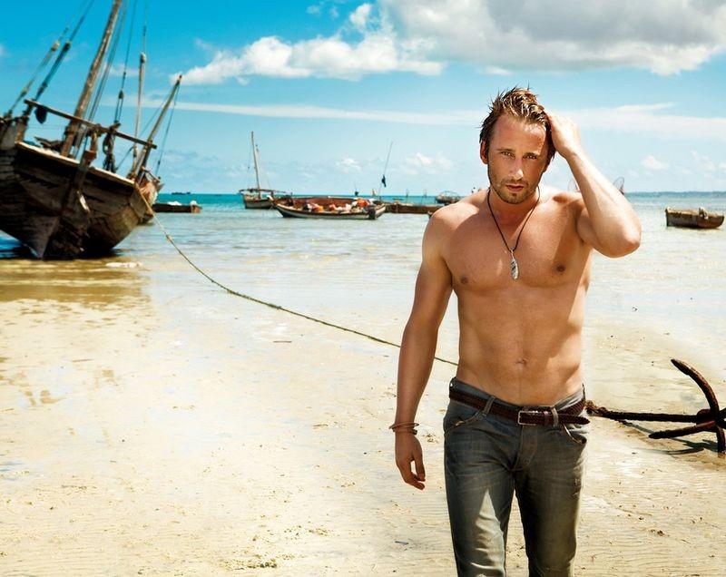 Matthias Schoenaerts in uno scatto sexy