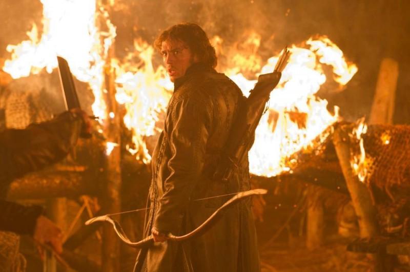 Biancaneve e il cacciatore: Sam Claflin è il principe in una scena del film