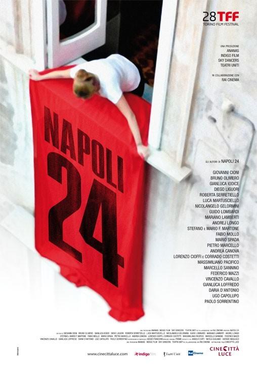 Napoli 24: ecco la locandina
