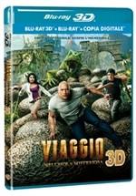 La copertina di Viaggio nell'isola misteriosa 3D (blu-ray)
