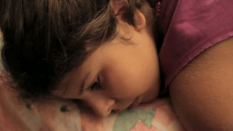 Ulidi piccola mia: Paola Pugnetti, protagonista del film, in una scena