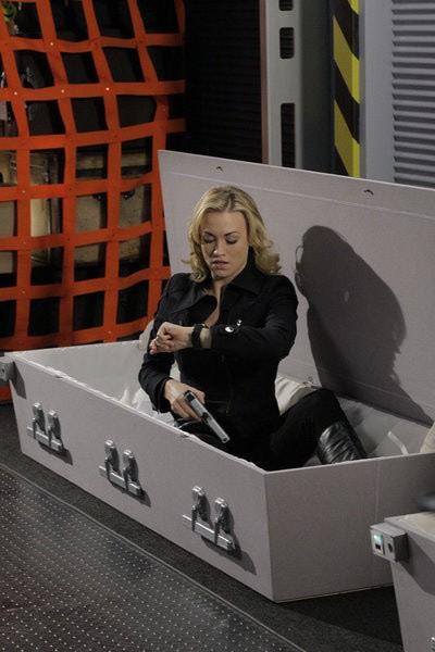 Chuck: Yvonne Strahovski nell'episodio Chuck Versus the Bullet Train