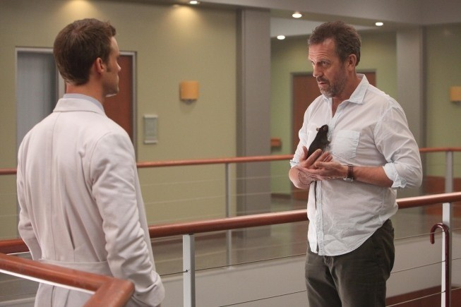 Dr House: Jesse Spencer e Hugh Laurie nell'episodio Blowing the Whistle