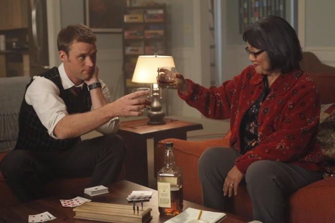 Dr House: Jesse Spencer e Saachiko nell'episodio Gut Check