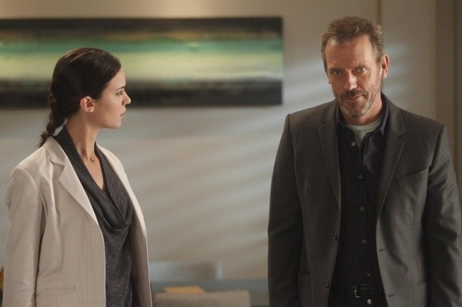 Dr House: Odette Annable e Hugh Laurie nell'episodio Runaway