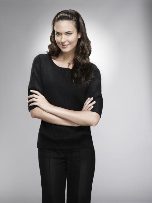 Dr House: Odette Annable in una foto promozionale della stagione 8