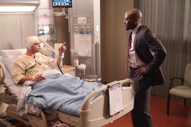 Dr House: Omar Epps nell'episodio Post Mortem