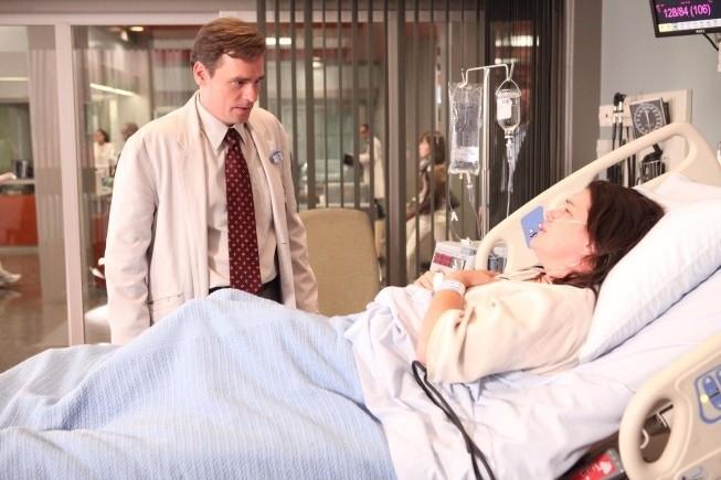 Dr House: Robert Sean Leonard e la guest star Liza Snyder nell'episodio Transplant