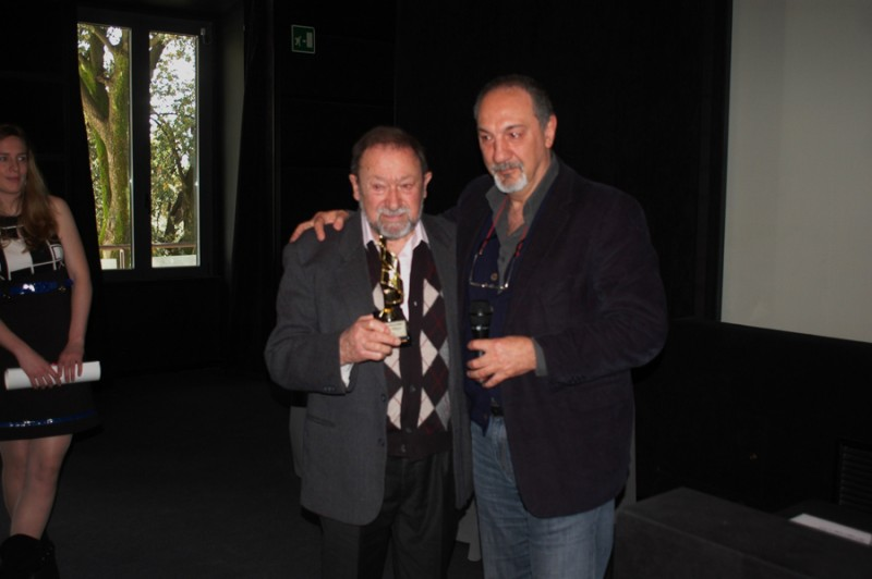 Enzo De Camillis e Alvaro Belsole a LA PELLICOLA D'ORO 2012