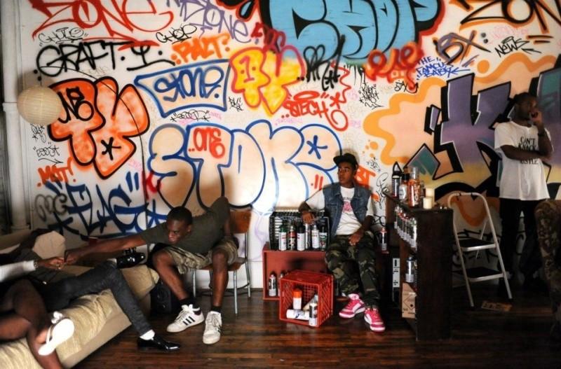 Gimme the Loot: una coloratissima immagine dal set del film