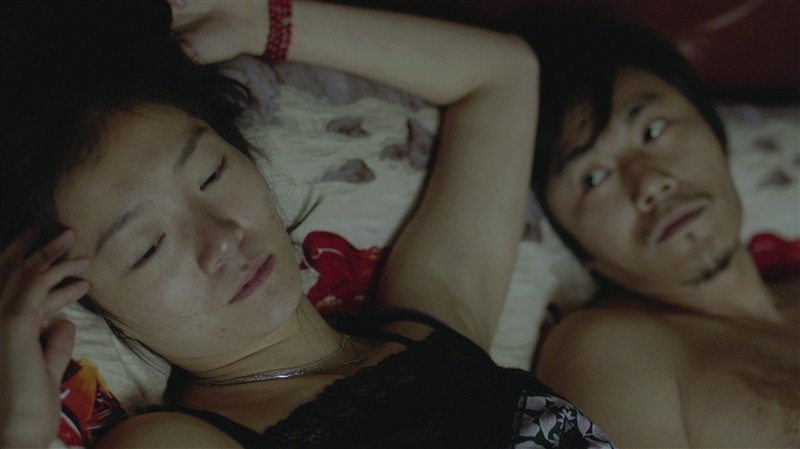 Mystery: Lei Hao e Qi Xi in una scena d'amore tratta dal film diretto da Lou Ye