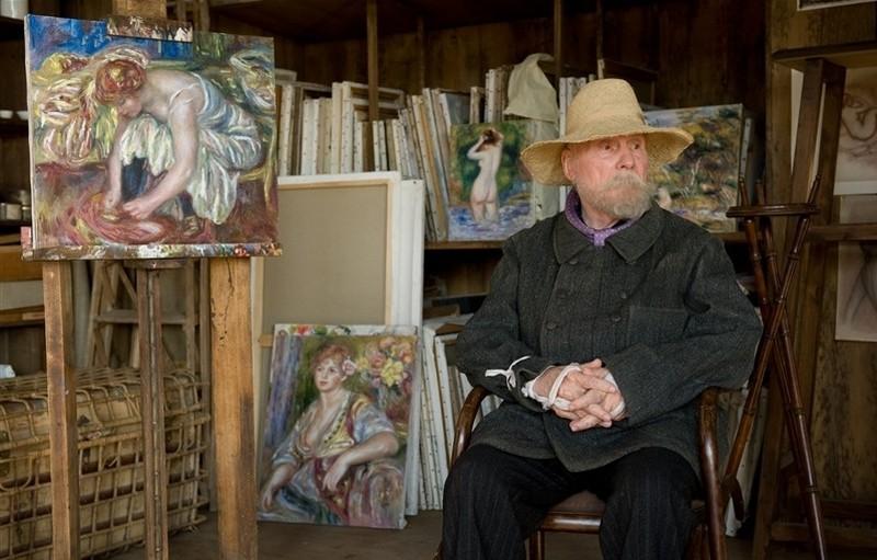 Renoir: Michel Bouquet in una bellissima scena del film nei panni del grande pittore impressionista francese