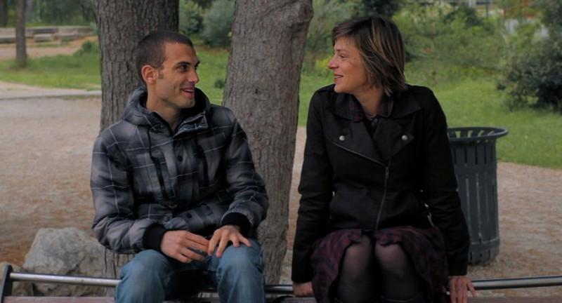 Sophie Cattani nella commedia francese Chercher le garçon