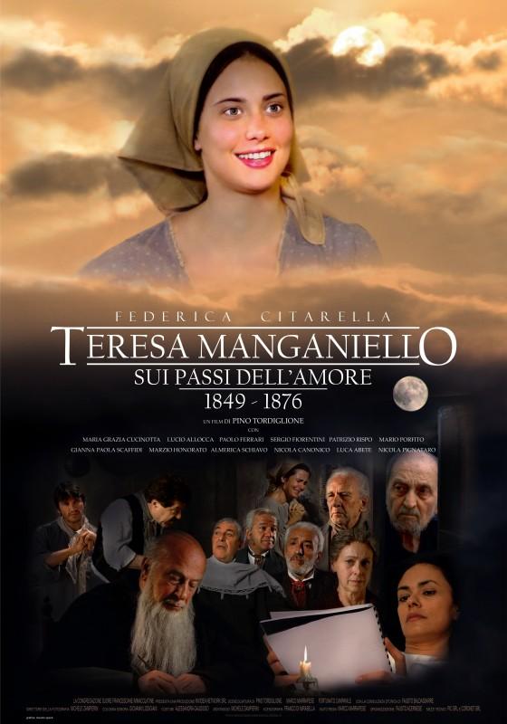 Teresa Manganiello, Sui Passi dell'Amore: la locandina del film