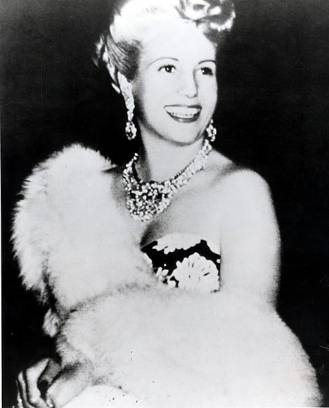 Una foto di Eva Perón