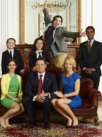 1600 Penn: una prima foto promozionale del cast
