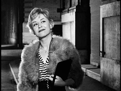 Giulietta Masina in Le notti di Cabiria di Fellini