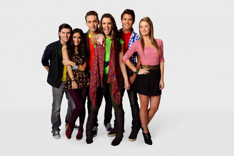 Grachi: una foto promozionale del cast della serie