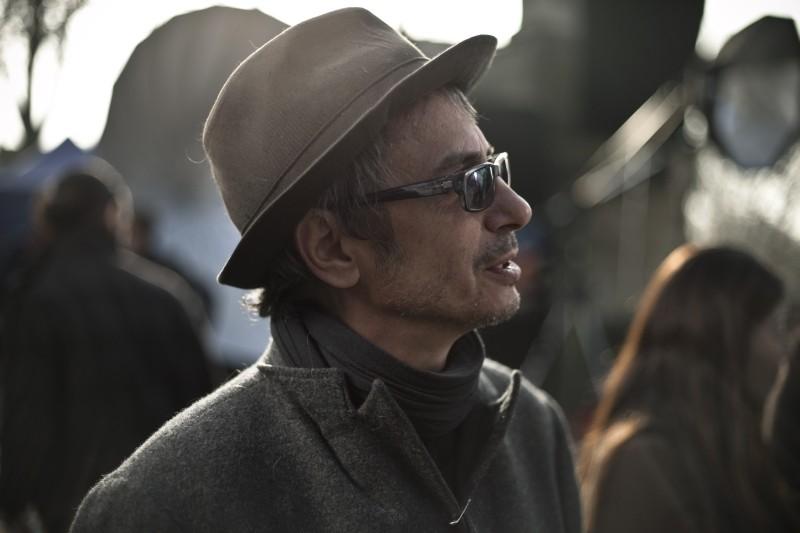 Holy Motors: il regista Leos Carax in una foto promozionale