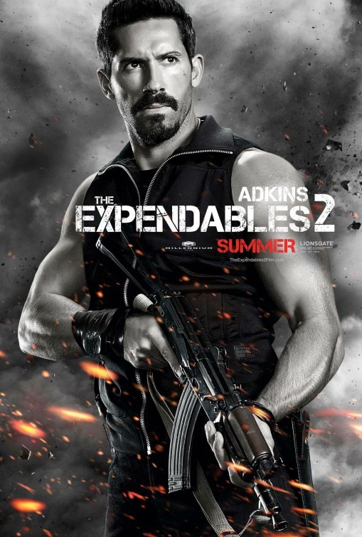 I mercenari 2 (The Expendables 2): character poster per Scott Adkins