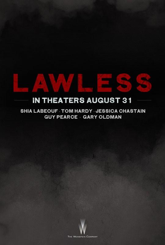 Lawless: il teaser poster del film