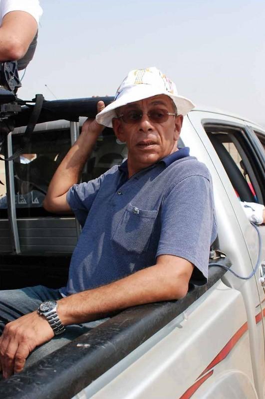 After the battle: il regista egiziano Yousry Nasrallah sul set del film