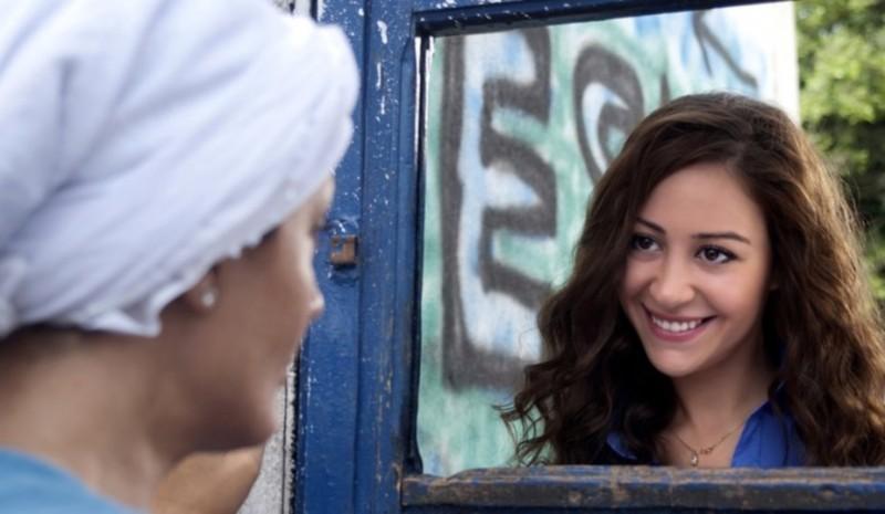 After the battle: Menna Shalabi in una scena del film diretto da Yousry Nasrallah