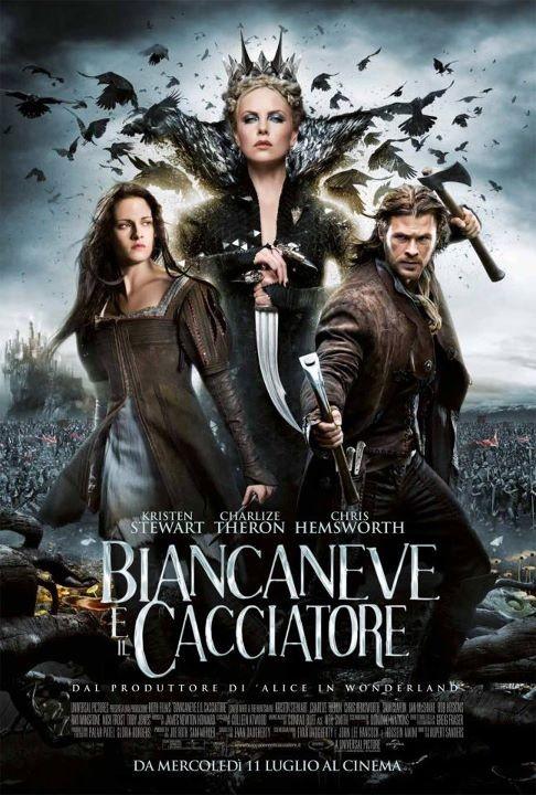 Biancaneve e il cacciatore: il poster italiano ufficiale del film
