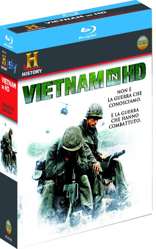 La copertina di Vietnam in HD (blu-ray)