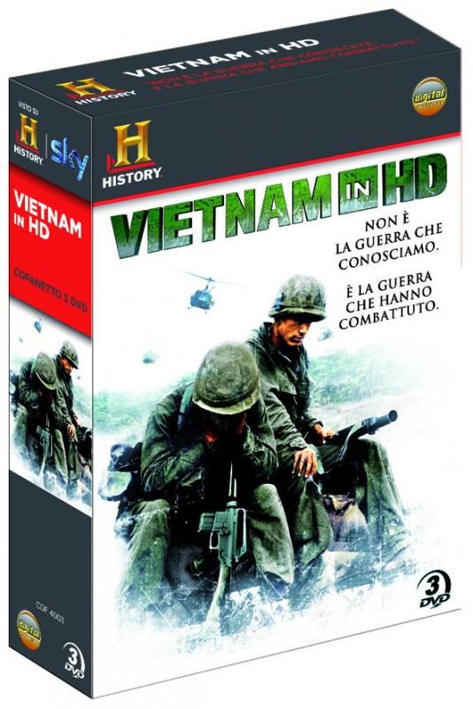 La copertina di Vietnam in HD (dvd)