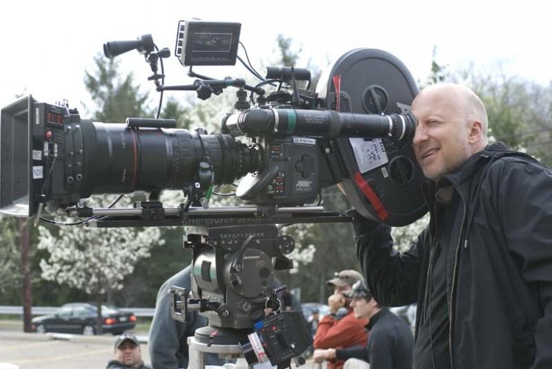 Lawless: il regista John Hillcoat sul set del film durante le riprese