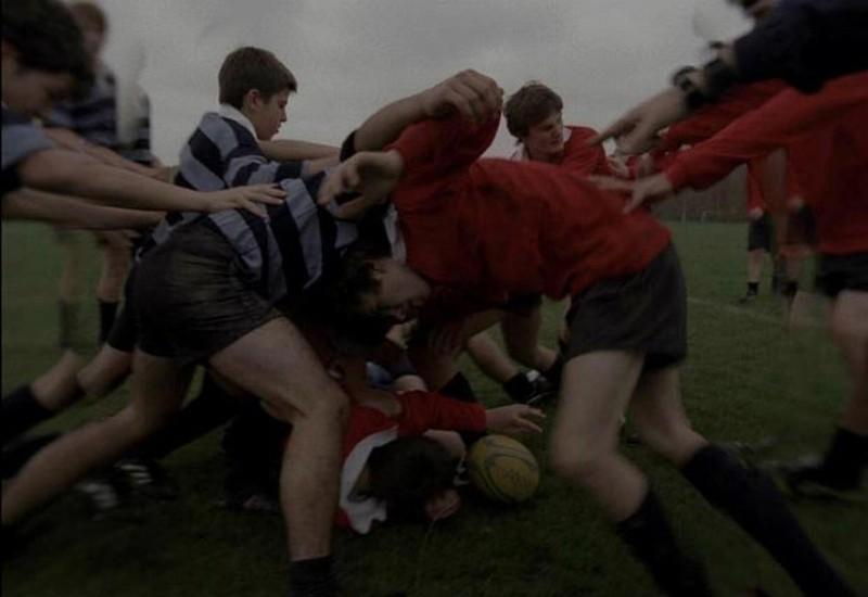 Post Tenebras Lux: una scena di rugby tratta dal film