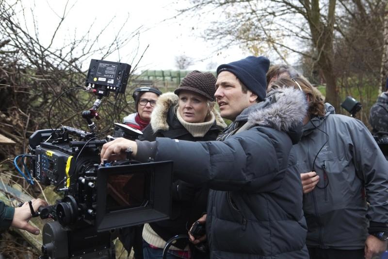The Hunt: il regista Thomas Vinterberg sul set del film