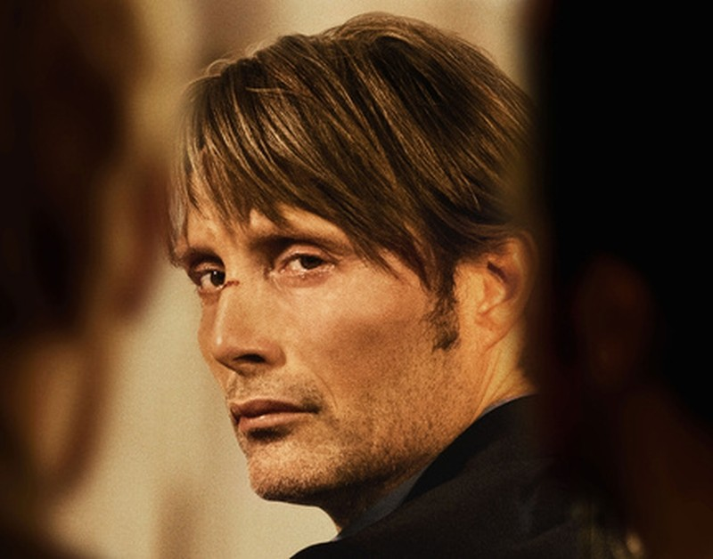 The Hunt: Mads Mikkelsen in una scena tratta dal film