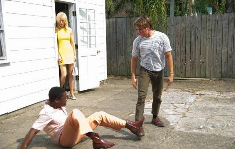 The Paperboy: Nicole Kidman e Zac Efron in una scena del film con David Oyelowo