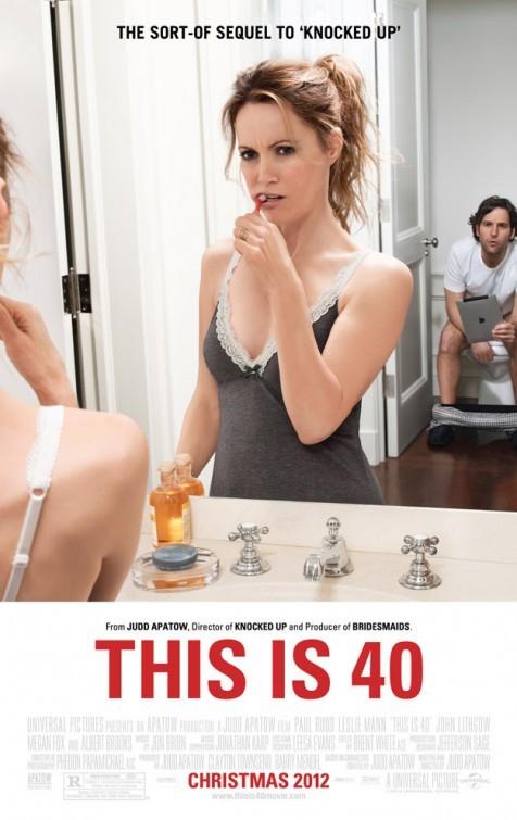 This is Forty: la locandina del film